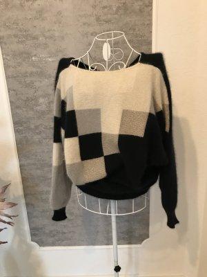 Maglione di lana multicolore