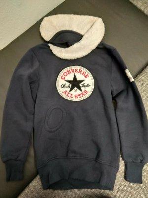 Converse Kraagloze sweater donkerblauw