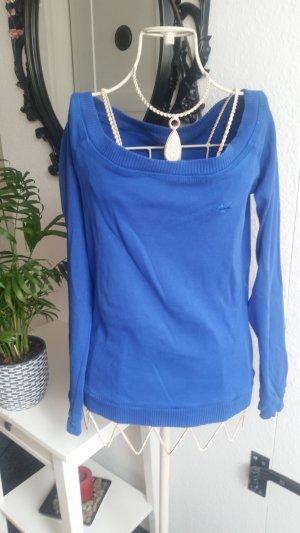Fishbone Sweater blauw