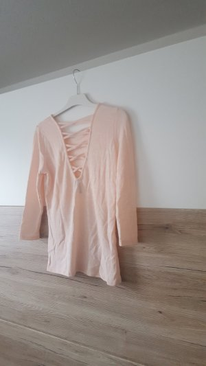 Pullover 3/4 Arm apricot Gr M