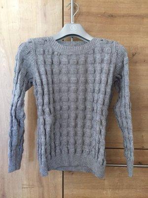 Jersey de lana gris claro