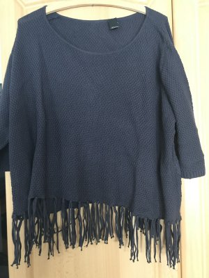 BC Fine Knitted Cardigan steel blue