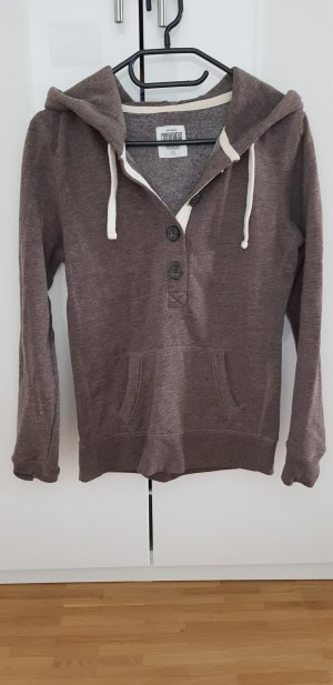 Clockhouse Hooded Sweater brown