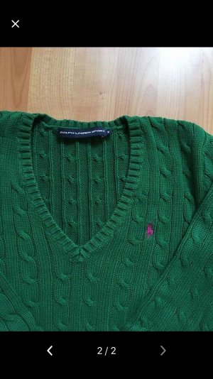 Ralph Lauren Cable Sweater forest green