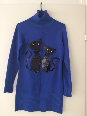 Long Sweater blue
