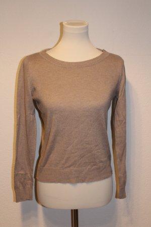 H&M Jersey de lana marrón arena