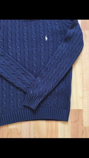 Ralph Lauren Cable Sweater blue