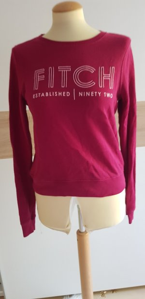 Abercrombie & Fitch Sweater bordeaux-framboosrood