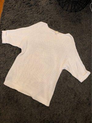 H&M Pull tricoté blanc