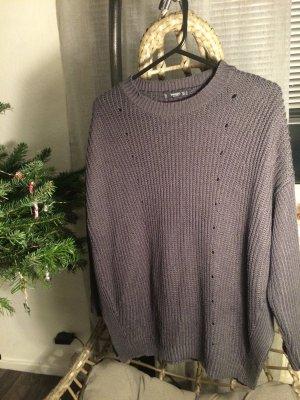 Mango Sweater grey-dark grey