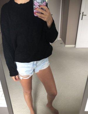 Zara Maglione di lana nero