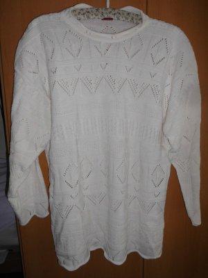 Pull en laine blanc laine