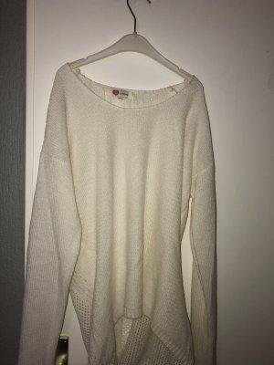 Koton Long Sweater natural white-white
