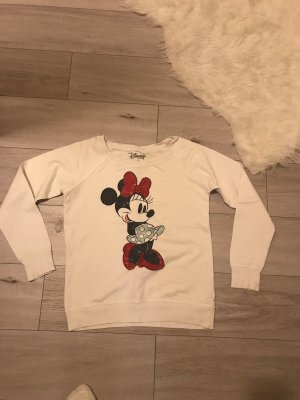 Disney Kraagloze sweater wit