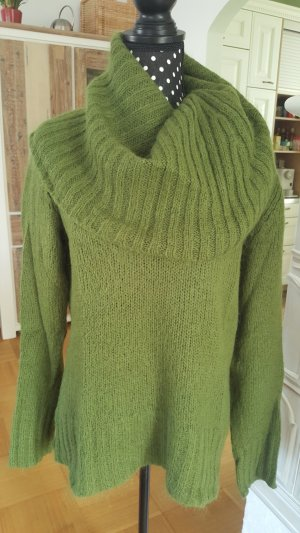 H&M Sweater green cotton