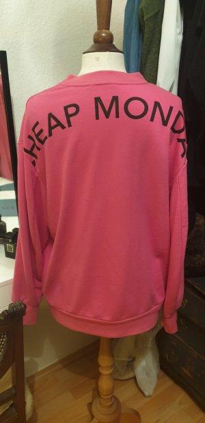 Cheap Monday Oversized Sweater pink
