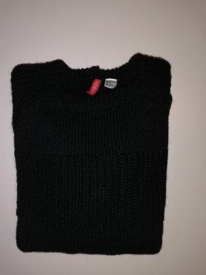 H&M Jersey de lana negro