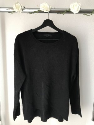 Atmosphere Kraagloze sweater zwart