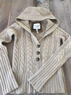 Abercrombie & Fitch Jersey con capucha crema