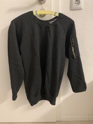 Fleece Jumper dark grey