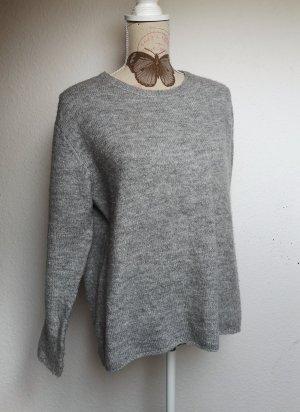 Amisu Jersey de lana gris claro-gris