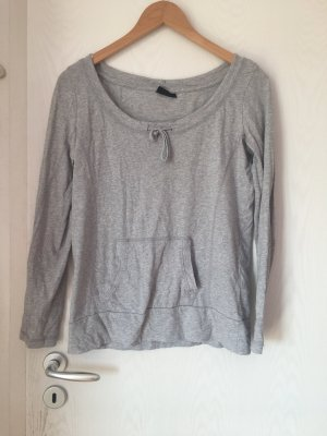 Janina Long Sweater light grey