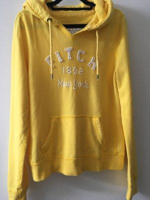 Abercrombie & Fitch Jersey con capucha amarillo