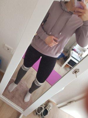 Amisu Capuchon sweater mauve