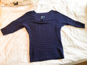 Pullover American Eagle Outfitters, Hollister navy blau gestrickt