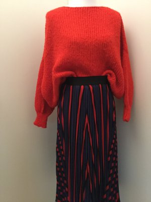 American Vintage Oversized Sweater red