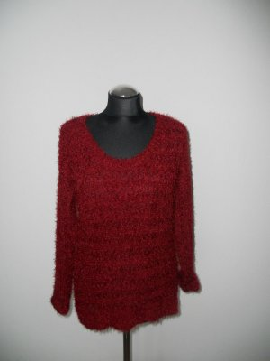 Pullover Amisu Gr. XS weinrot
