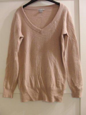 Pullover aus 100% Cashmere von H&M - Gr. S - altrosa