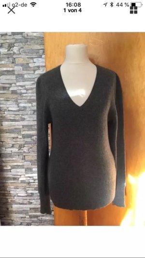 Pullover aus 100% Kaschmir grau