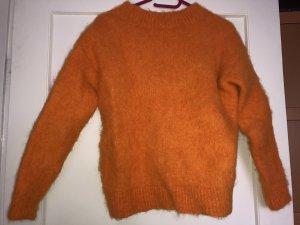 H&M Jersey de lana naranja