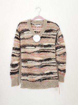 Pullover aus einem Alpaka-Mohairgemisch