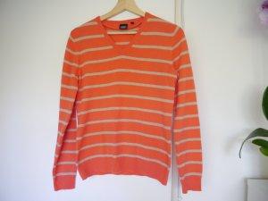 """Pullover aus Kaschmir(100%) """"YORN"""", Orange, 36/S Größe"""