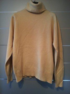 Pullover aus Kaschmir, Größe M, gelb
