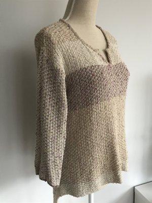 Aust V-Neck Sweater multicolored mixture fibre