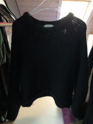 Zara Grof gebreide trui zwart