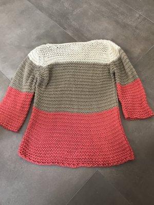 Amy Vermont Pull en crochet multicolore