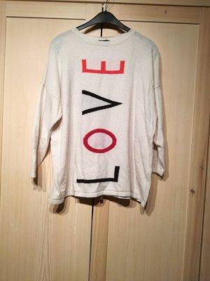 AX Paris Oversized Sweater white