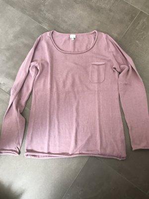 Alba Moda Kraagloze sweater roségoud