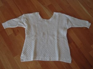 Mango casual Knitted Sweater cream cotton