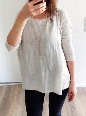 Pullover beige Größe S/M Baumwolle Sweater