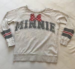 Pullover beige Minnie Mouse, Original aus Disneyland, Gr. XS