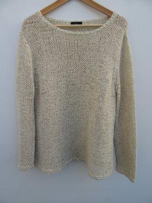 Pullover beige Oui Gr. 44