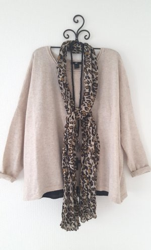 Pullover beige oversize Gr. L