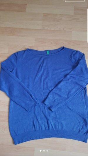 Benetton Sweater blauw