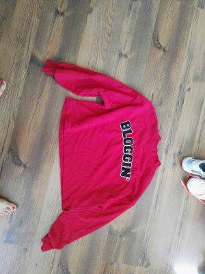 Pullover bershka S rot