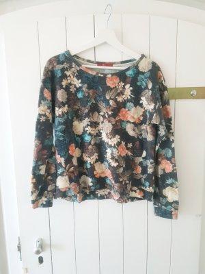 Pullover Blumen Muster L